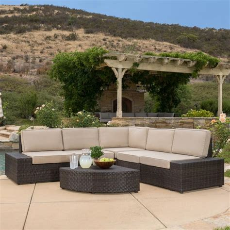 Reddington R8044g Black Grey Leather reddington 6pc outdoor brown wicker sectional seating set gdf studio