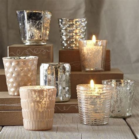 mercury tea light holders mercury tea light holders candles and glass