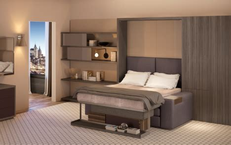 transformers bedroom furniture transformer hotel tiny room showcases convertible furniture urbanist