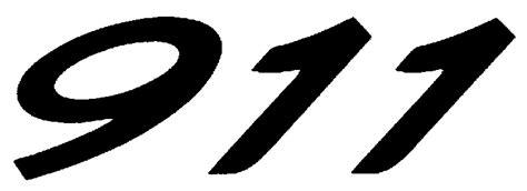 Porsche 911 Font Porsche Logos
