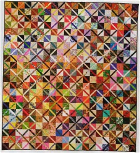 Scrap Quilt Patterns For Beginners by Trading Patches Quilt Pattern From Magazine Beginner