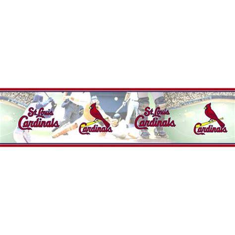 Kaos Sport Baseball Mlb Team St Louis Cardinals Original Gildan st louis cardinals mlb wall border