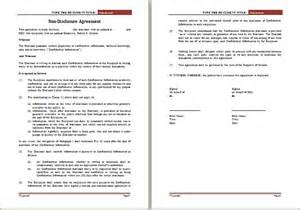 nda non disclosure agreement template editable non disclosure agreement template word document