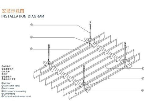 Spandrel Ceiling Installation by Aluminum Spandrel Ceiling System Ceiling Design For