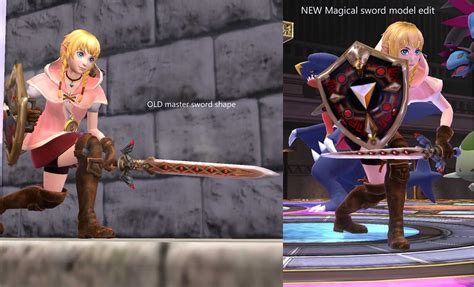 libro the twisted sword a linkle magic sword v2 vertex edit super smash bros for