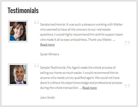personal trainer testimonial template testimonials add on for real estate idxcentral