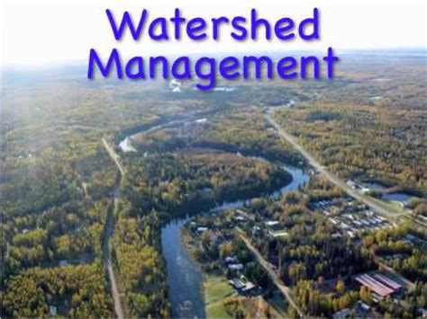What Is Water Shed by Nrm 101 Lecture Watershed Management