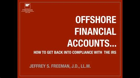 offshore bank accounts what to do with your offshore bank account freeman tax