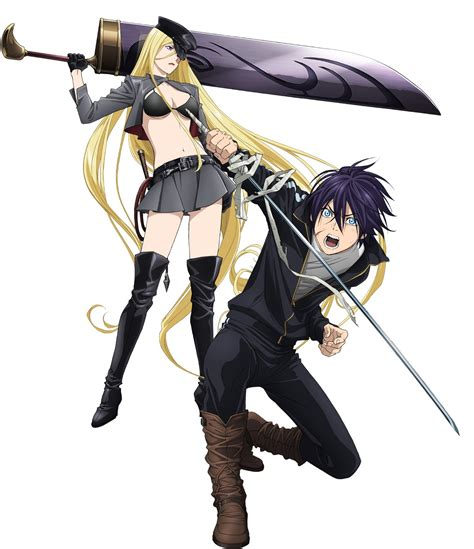 noragami anime noragami second season character designs revealed haruhichan
