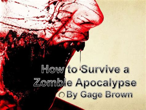zombie templates for powerpoint zombie presentation