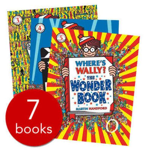 where s the books where s wally kitbag 7 books in a bag collection