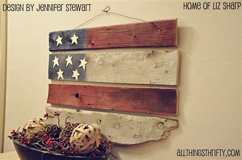 Wood Decorations For Home by Barn Wood Americana Decor