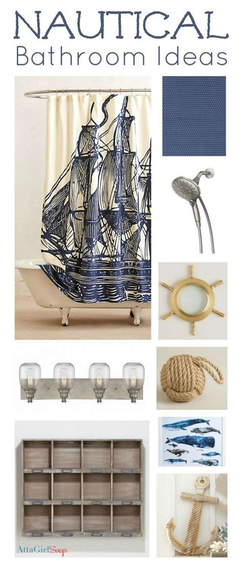 The 25 Best Bathroom Theme Ideas Ideas On Pinterest Nautical Bathroom Accessories Sets