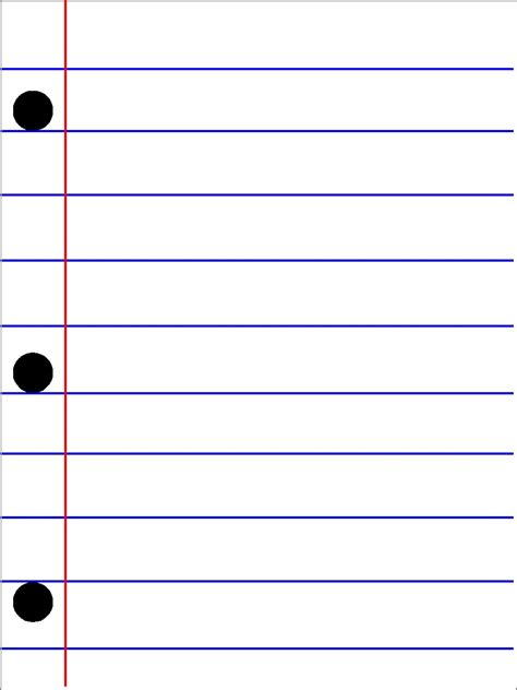 Printable Lined School Paper | school lined paper journal card printables everyday parties