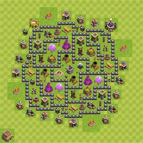 layout design cv8 disposizione della villaggio per risorse clash of clans