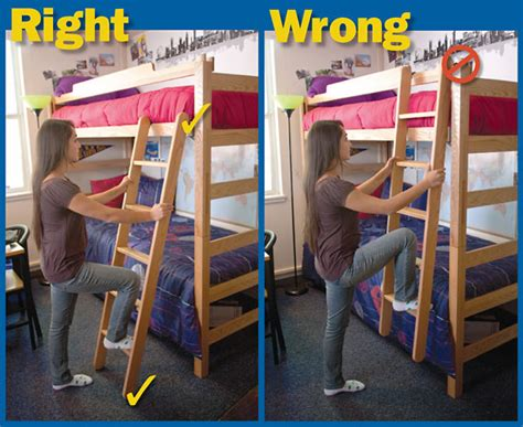 Furniture Bunk Bed Ladder Safety