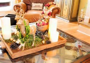 coffee table flower decorations the comforts of home a little christmas on the coffee table