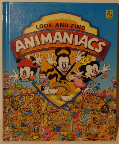 Find On Book Look And Find Animaniacs Book By Darkzadar Zero On Deviantart