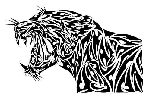 tribal leopard tattoo designs tribal jaguar by l4tin g3cko on deviantart