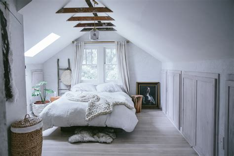 rustic attic bedroom a cred attic space gets opened up front