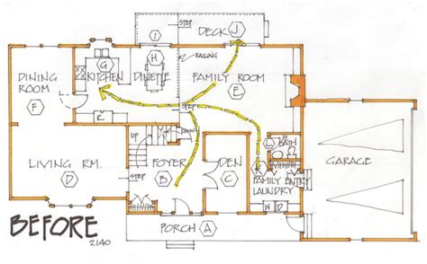 how to change the floor plan of your house changing the floor plan can make a home user friendly