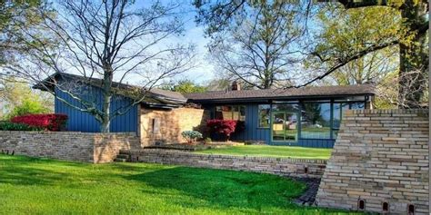 mid century house this mid century house features beautiful built in wooden