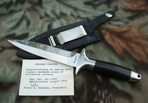 kershaw trooper knife kershaw knives