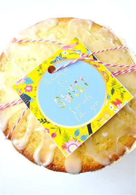 printable lemon recipes lemon cake recipe printable gift tags