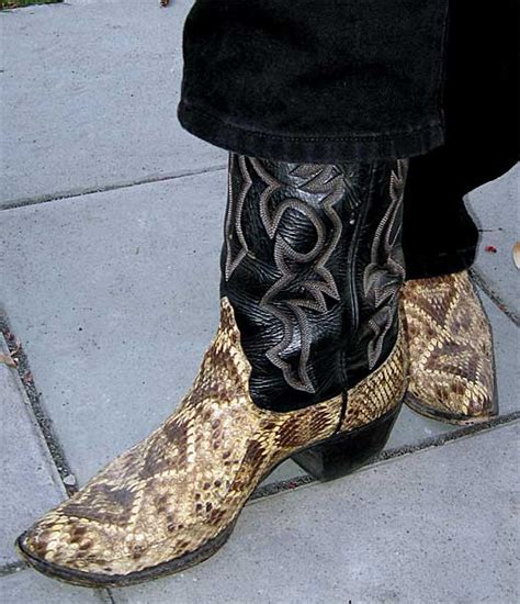 rattlesnake boots larry mahan rattlesnake boots