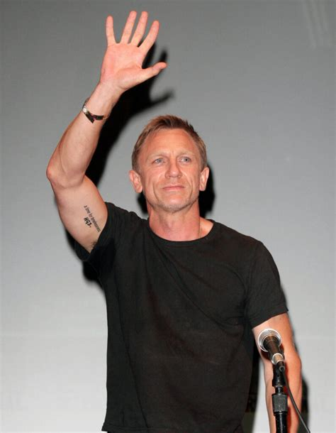 james bond tattoo daniel craig s inkedceleb