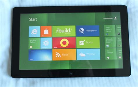 Tablet Samsung Os Windows 8 samsung windows 8 developer preview pc the future of tablets