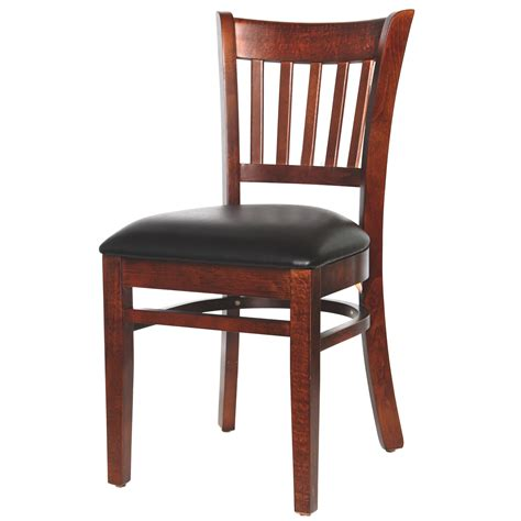 Wooden Slat Chairs by Chairs Wood Floating Slat Back Chair