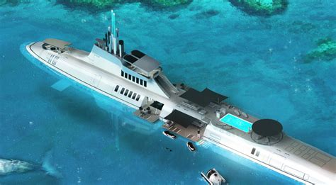 House Design Plan by The Ultimate Superyacht Is A Submarine 26 North Yachts
