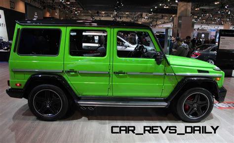mercedes g wagon green 2015 mercedes benz g63 amg crazy colors edition