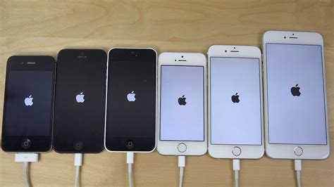 ios 8 1 2 apple iphone 6 plus vs 6 vs 5s vs 5c vs 5 vs 4s which is faster 4k