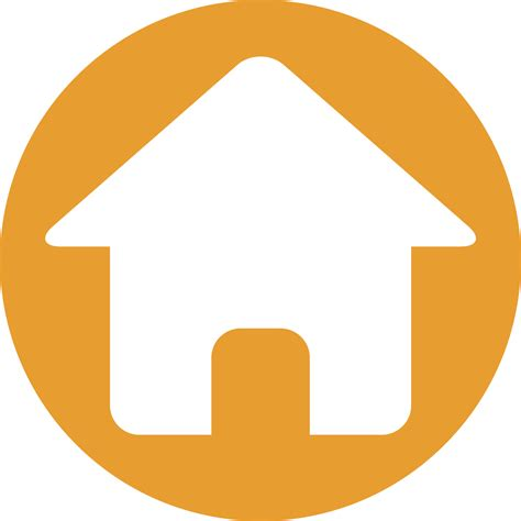 orange housing home icon orange www pixshark com images galleries
