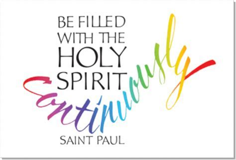Holy Spirit, Ephesians 5:18, Calligraphy Art Plaques