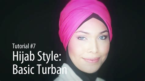 tutorial hijab turban you tube adlina anis hijab tutorial 7 the basic turban youtube