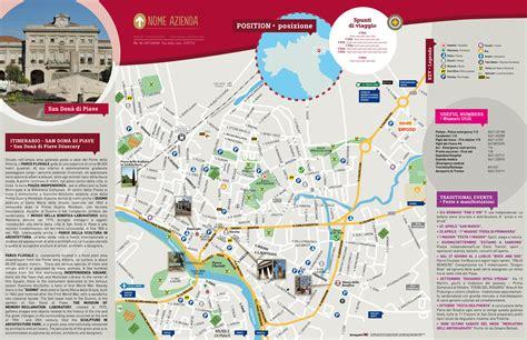 mappa di san don 224 di piave cartina centro storico di