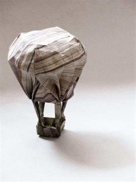 Origami Air - origami air balloon by obeserhino on deviantart