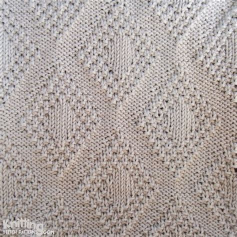 reversible knit stitches moss bordered is a versatile stitch it s