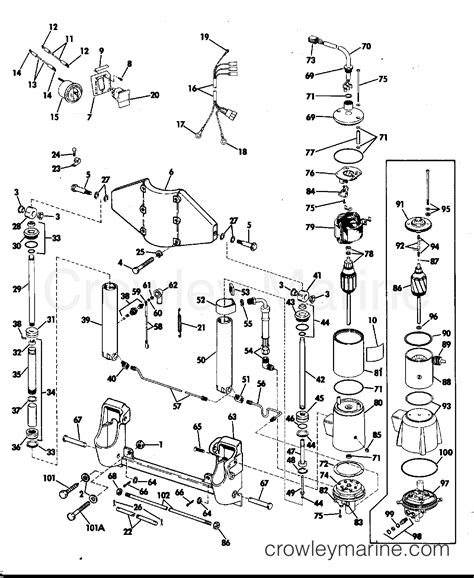 wiring diagram for 1974 70hp outboard motor get free