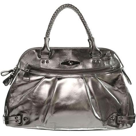 Elliot Lucca Etoile Silver Leather Purse elliott lucca etoile large satchel handbag