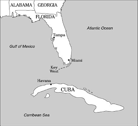 map cuba florida ybor city cigar capital of the world locating the site