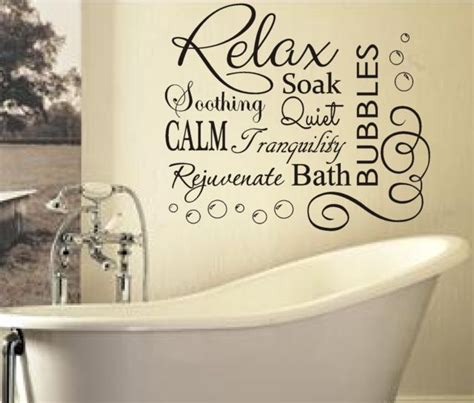 wall quotes bathroom 25 best bathroom wall quotes on pinterest