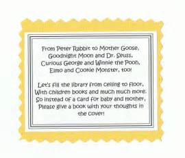 poem for baby shower book instead of card book intstead of card books worth reading