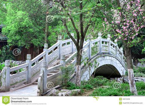 Chinese Style Stone Arch Bridge Stock Photo Image Of Bridge Traditional