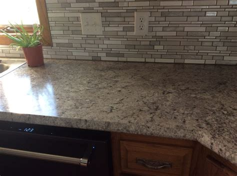Countertop: Formica Argento Romano with Ideal Edge
