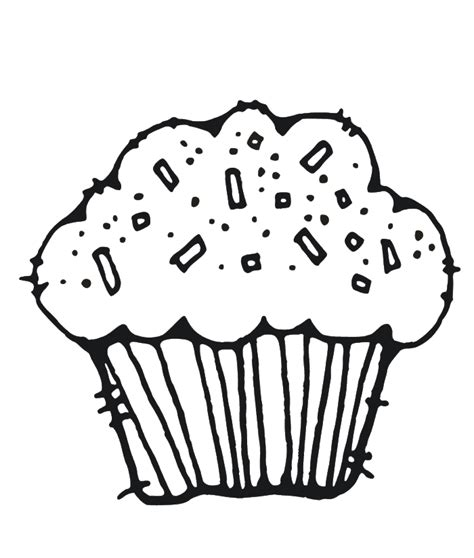 Muffin Coloring Page Muffin Coloring Page Coloring Home