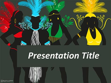 Free Festival Powerpoint Templates Myfreeppt Com Festive Powerpoint Templates